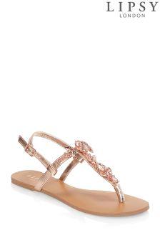 Lipsy Jewel Sandals
