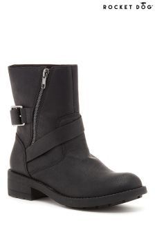 Rocket Dog Tour Eagle Side Zip Ankle Boots