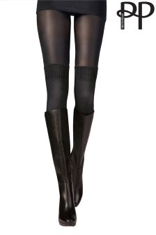 Collants Pretty Polly Secret style chaussettes
