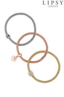 Lipsy Multi Tone Gift Bracelet