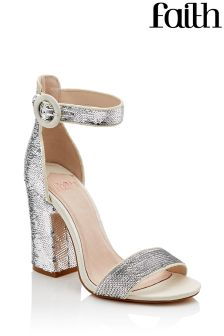 Faith Danielle Sequin Sandal