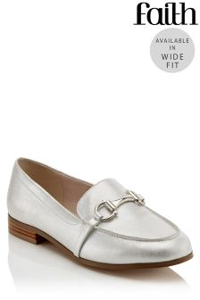 Faith Wide Fit Loafers