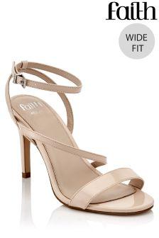 Faith Wide Fit Stiletto Sandals