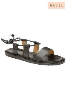 Ravel Wrap Around Leather Sandals