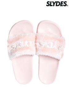 Slydes Faux Fur Sliders