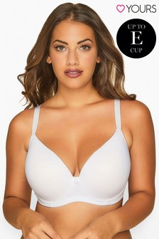 Yours Curve Moulded T-Shirt Bra - Best Seller DD+