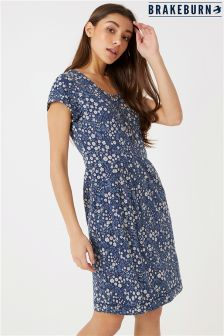 Brakeburn Ditsy Flower Print Shift Dress