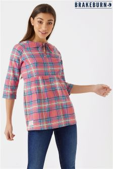Brakeburn Empire Check Blouse