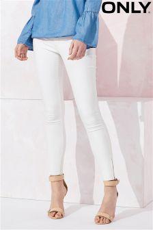 Only Beschichtete Skinny-Jeans