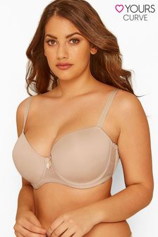 Yours Curve Moulded T-Shirt Bra - Best Seller F+