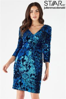 Star By Julien Macdonald Sequin Shift Dress