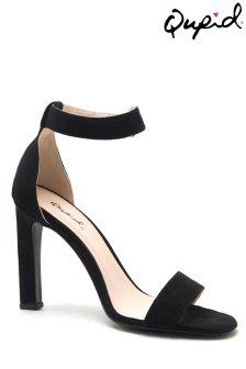Qupid Strap Heeled Sandals