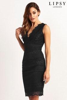 Sukienka koronkowa Lipsy bodycon, rozmiar drobny