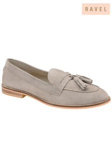 Ravel Leather Tassel Loafers