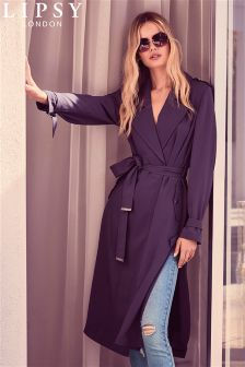 Lipsy Belted Duster Coat