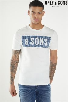Only & Sons Boris Short Sleeve Slim Tee
