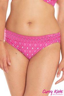 Curvy Kate Revive Bikinihose mit Umschlagbund