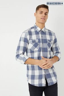 Brakeburn Block Check Shirt