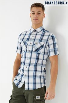 Brakeburn Short Sleeve Check Shirt