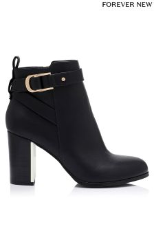 Forever New Block Heel Ankle Boots