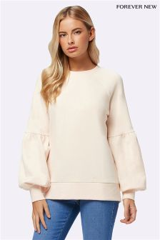 Forever New Petite Bubble Sleeve Sweater