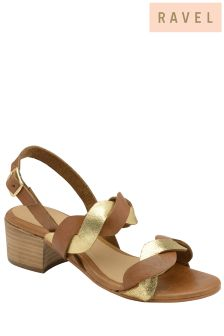 Ravel Mid Heel Sandals