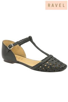 Ravel T Bar Ballerina Shoes