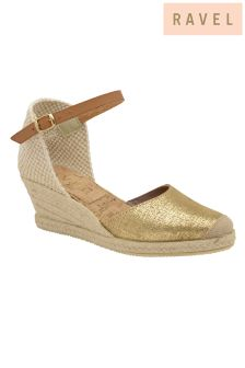 Ravel Metallic Espadrilles