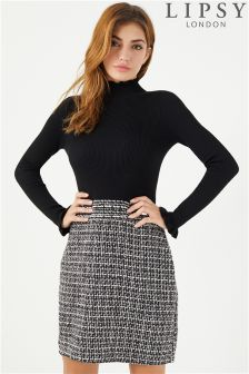 Lipsy Boucle Dress