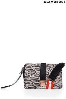 Glamorous Snake Cross Body Bag
