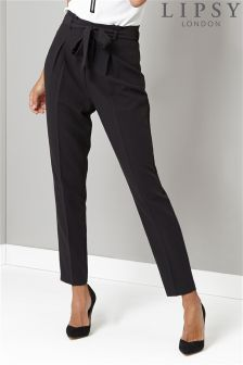 Lipsy Tall Tie Front Trouser