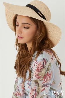 Lipsy Sequin Straw Hat