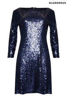 Glamorous Curve Sequin Bodycon Dress