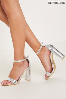 PrettyLittleThing Block Heel Sandals