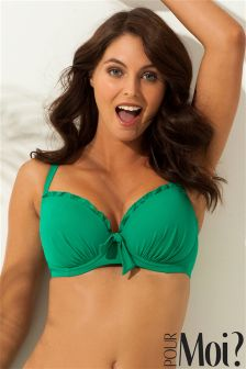 Pour Moi Pool Party Padded Underwired Bikini Top