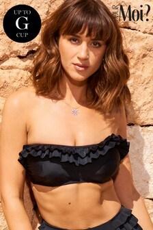 Pour Moi Fiesta Strapless Underwired Bikini Top E+