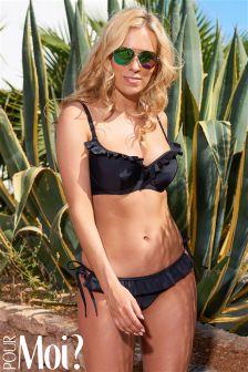 Pour Moi Fiesta Tie Side Ruffle Bikini Brief