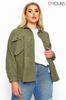 Yours Curve Co-ord Shacket