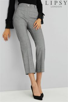 Lipsy Check Tailored Trousers