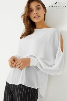 Angeleye Layered Blouse