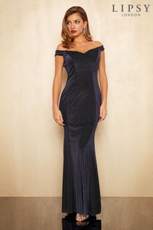 Lipsy Raylee Lurex Maxi Dress