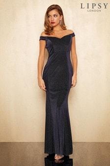 Lipsy Raylee Lurex Maxi Dress