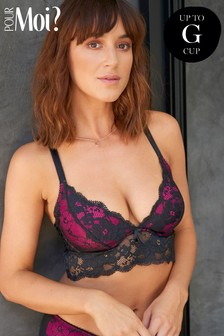 Pour Moi Amour Convertible Underwired Bralette E+