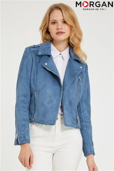 Morgan PU Biker Jacket