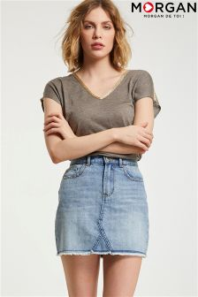 Morgan Denim Skirt