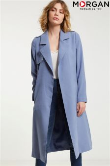 Morgan Belted Trench