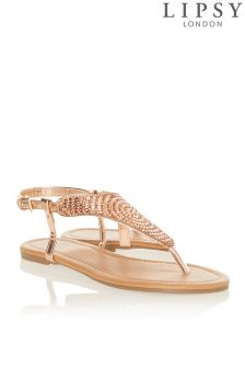 Lipsy Diamanté Sandals