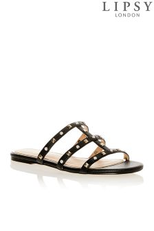 Lipsy Studded and Pearl Sliders