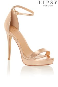 Lipsy Platform Barely There Sandals