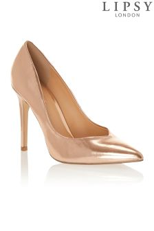Lipsy Metallic Court Shoes